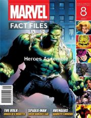 Marvel Fact Files #08 Eaglemoss Publications